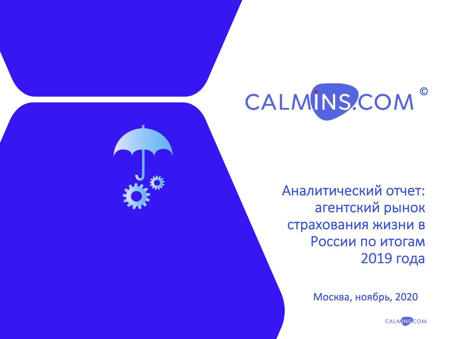 Анализ Агентского рынка страхования жизни в России по итогам 2019 года