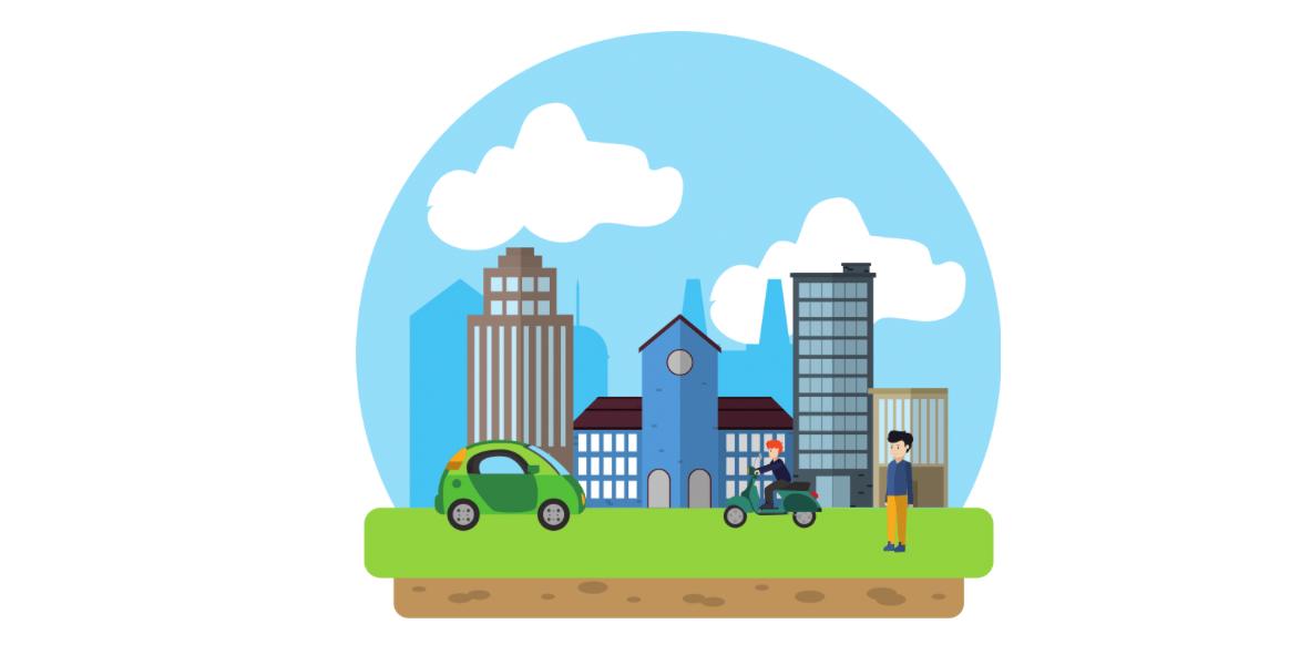Экологичный транспорт 2021 – это выделенная полоса и бесплатная парковка