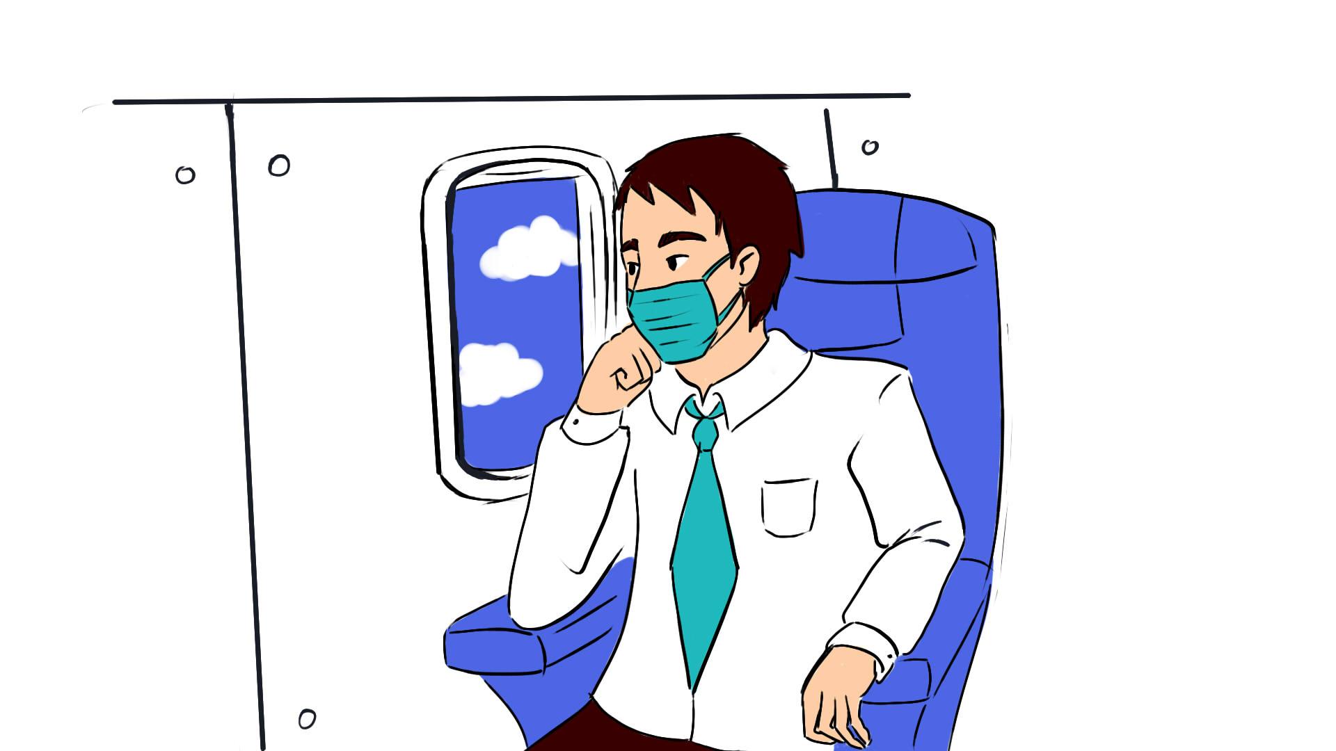 Страховка от COVID-19 вместе с билетом на самолет