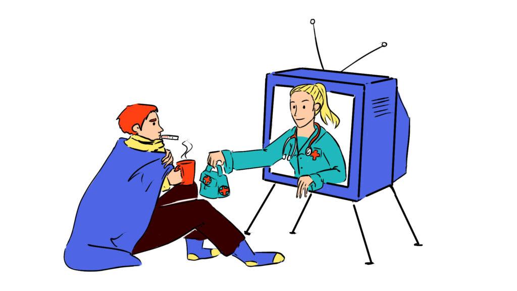 телемедицина это