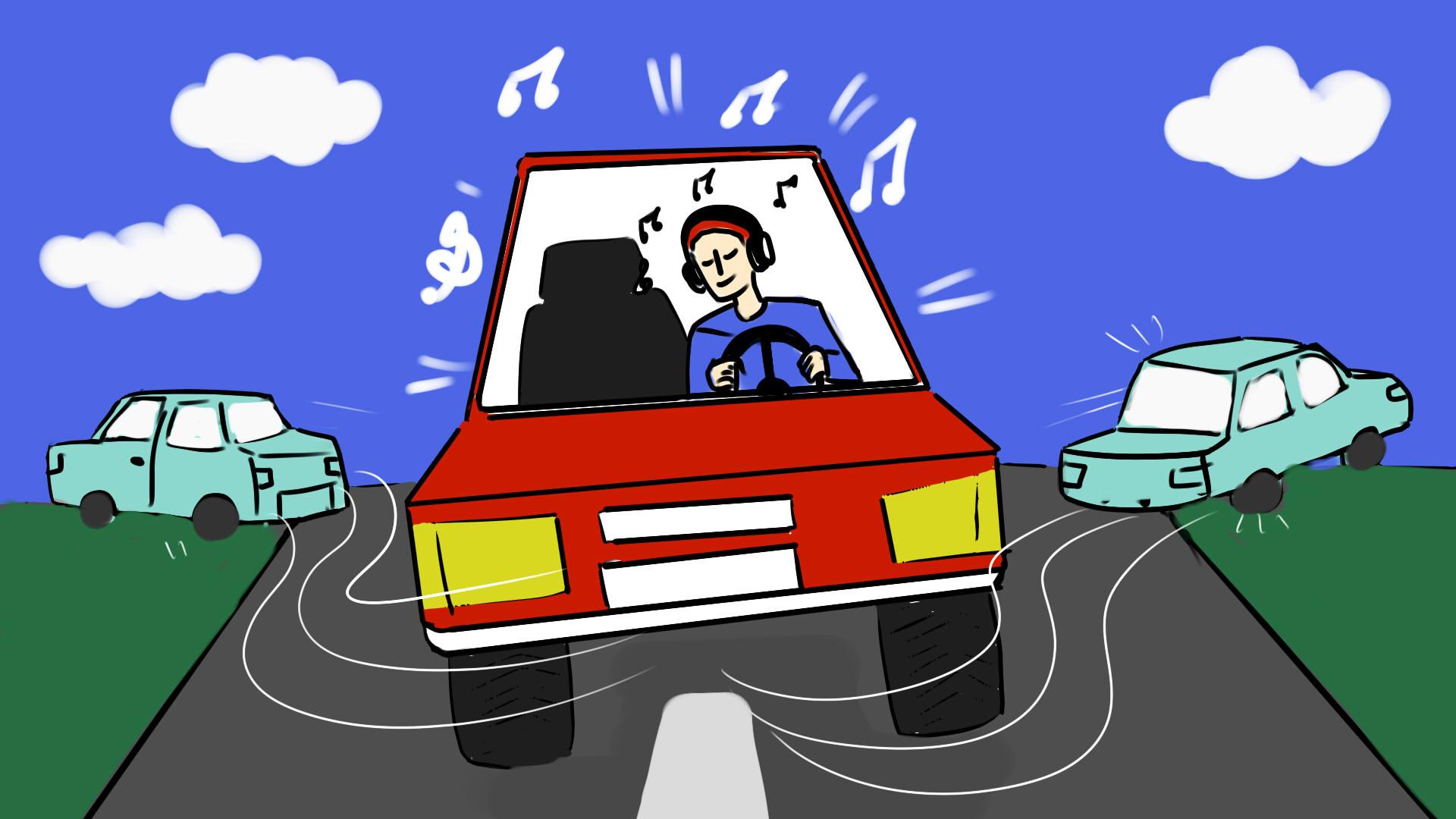 Как музыка может повлиять на риск автомобильной аварии