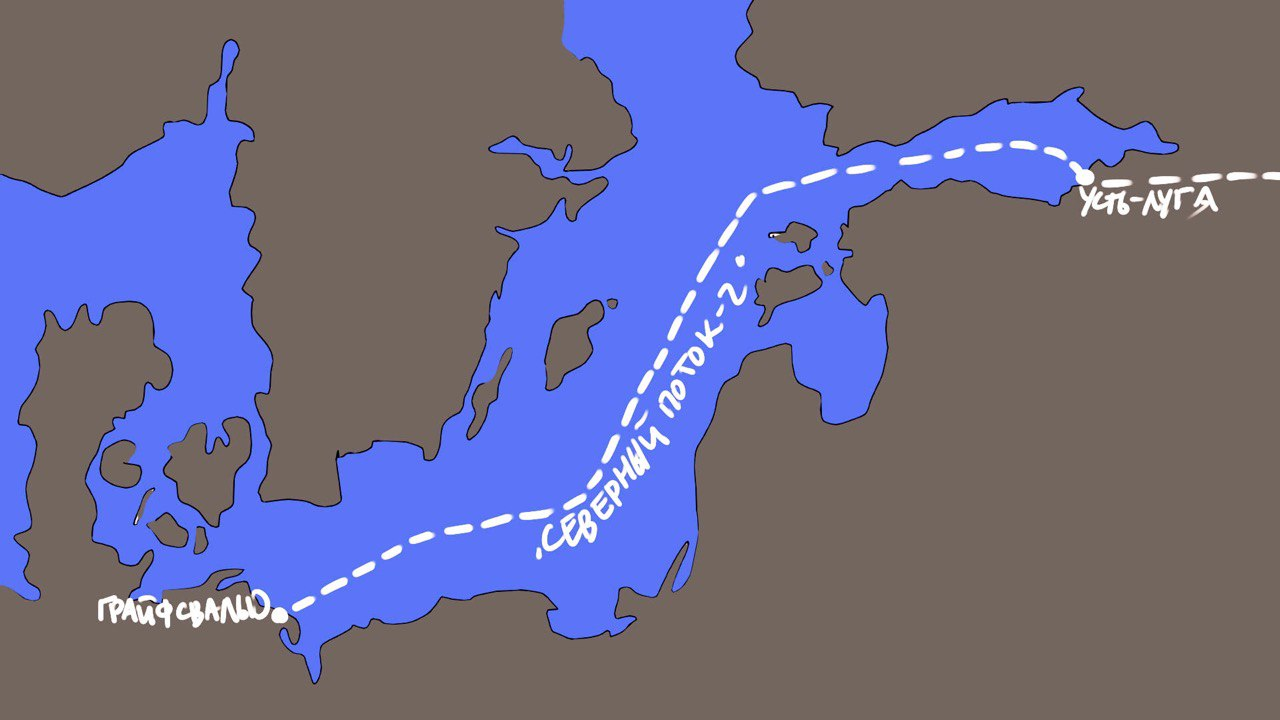 """Страховщики прекращают поддержку """"Северного потока - 2»"""