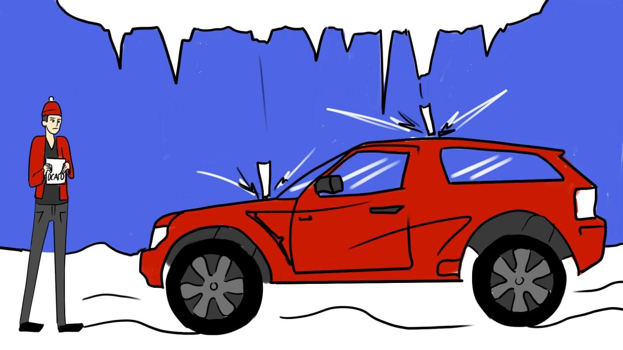 ОСАГО защитит от снега с крыши и сосулек?