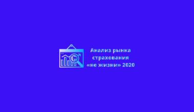 """Страховой рынок России 2020 - анализ результатов сегмента """"не жизнь"""""""