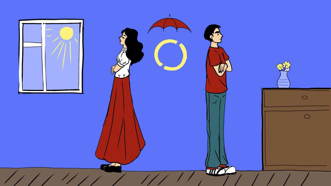 Как страховка работает при разводе